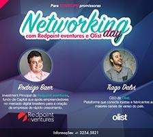 Participe do Networking Day com Redpoint eventures e Olist