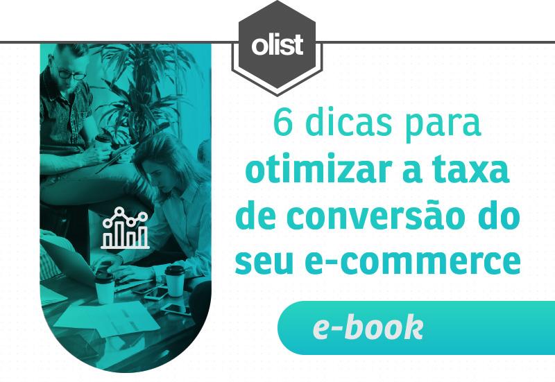 E-book: Guia para otimizar a taxa de conversão do e-commerce