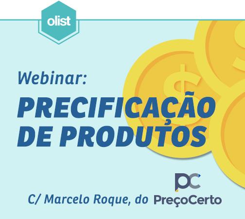 [Webinar] Precificação correta de produtos para venda online