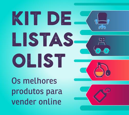 Kit de Listas Olist: melhores produtos para venda em marketplaces