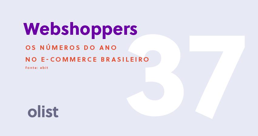 Webshoppers 37 (2017/2018): os números do e-commerce brasileiro!