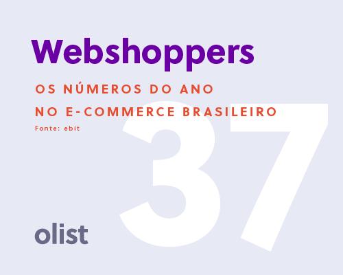 Webshoppers 37: todos os números do e-commerce brasileiro em 2017 e previsões para 2018!