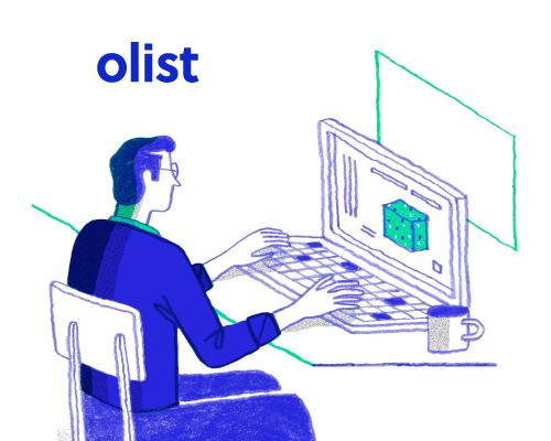 Conheça a nova identidade visual do Olist
