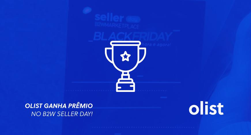Prêmio B2W Seller Day: Olist vence na categoria maior quantidade de departamentos na Black Friday 2017!