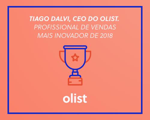 Prêmio E-commerce Brasil 2018: Tiago Dalvi é eleito Profissional do Ano na categoria Vendas!