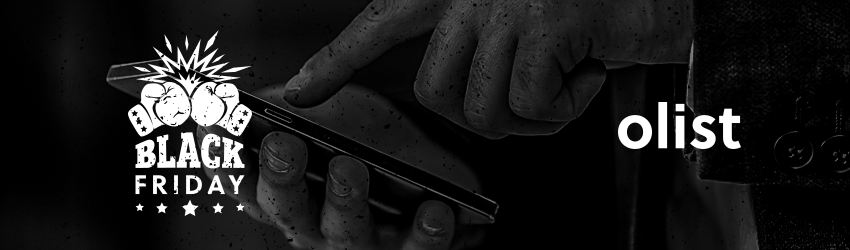 Grandes Listas Olist: eletrônicos para vender na Black Friday!