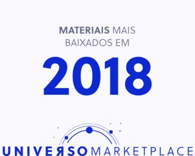 Os 10 materiais mais populares do blog Universo Marketplace em 2018