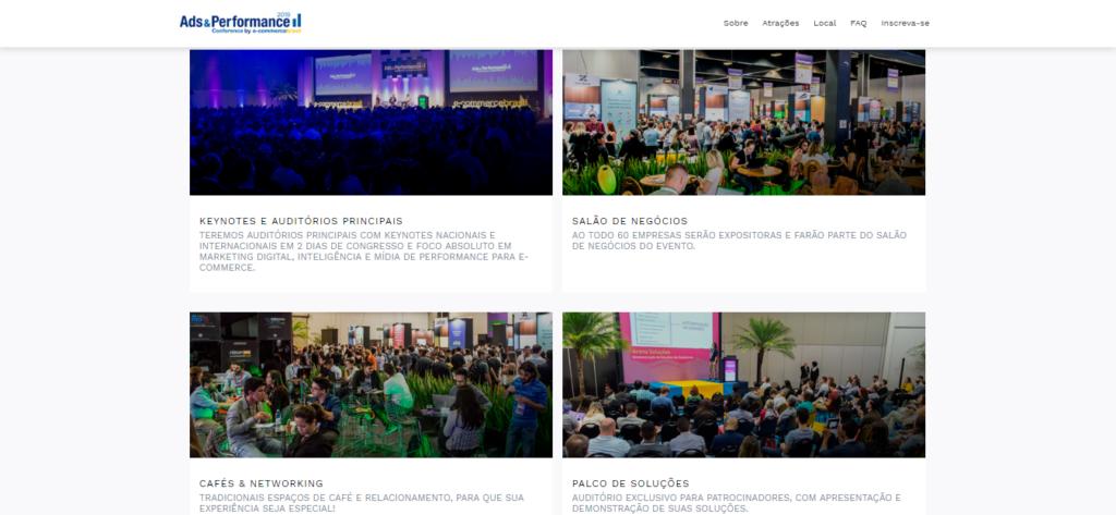 Algumas das atrações do Congresso E-commerce Brasil Ads&Performance.