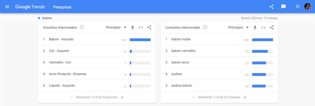Como saber o que vender - Acessar o Google Trends