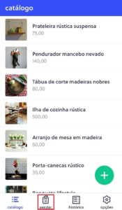 Registre as vendas da sua loja no aplicativo Olist Shops!
