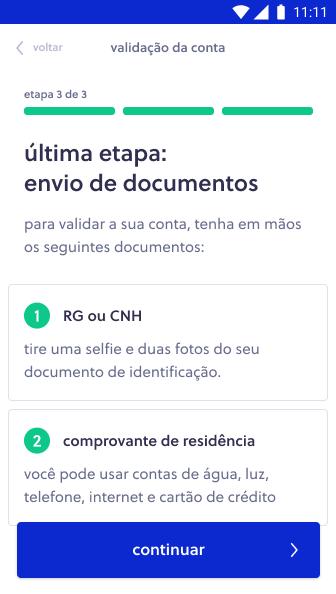 Link de pagamento Olist Shops - Etapa 3