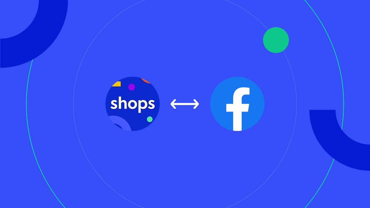 Integração olist shops e Facebook